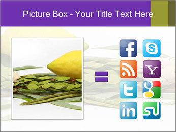Etrog PowerPoint Template - Slide 21