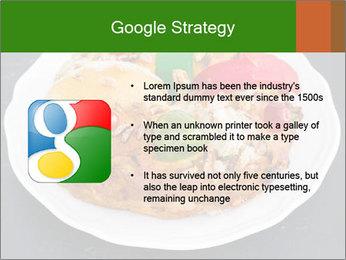 Christmas cake PowerPoint Template - Slide 10