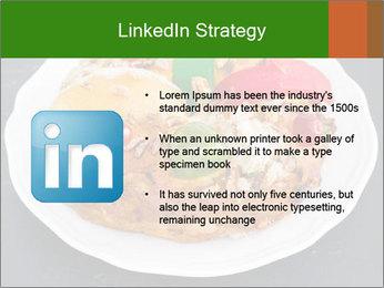 Christmas cake PowerPoint Template - Slide 12