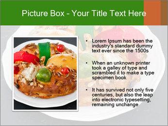 Christmas cake PowerPoint Template - Slide 13