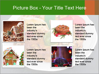 Christmas cake PowerPoint Template - Slide 14