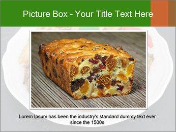 Christmas cake PowerPoint Template - Slide 16