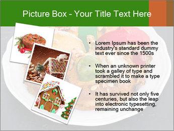 Christmas cake PowerPoint Template - Slide 17
