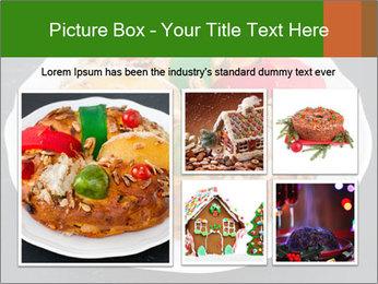 Christmas cake PowerPoint Template - Slide 19