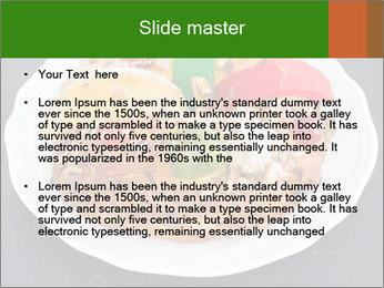 Christmas cake PowerPoint Template - Slide 2