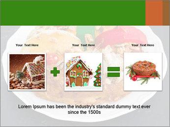 Christmas cake PowerPoint Template - Slide 22