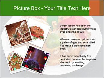 Christmas cake PowerPoint Template - Slide 23