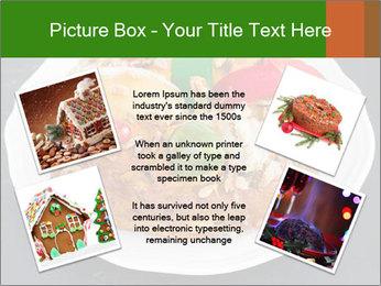 Christmas cake PowerPoint Template - Slide 24