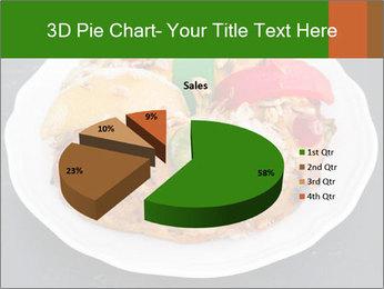 Christmas cake PowerPoint Template - Slide 35