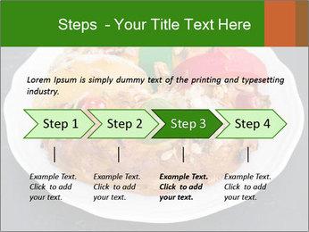 Christmas cake PowerPoint Template - Slide 4