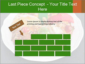 Christmas cake PowerPoint Template - Slide 46