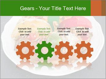 Christmas cake PowerPoint Template - Slide 48
