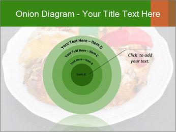 Christmas cake PowerPoint Template - Slide 61