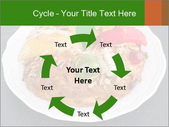 Christmas cake PowerPoint Template - Slide 62