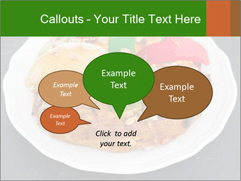Christmas cake PowerPoint Template - Slide 73