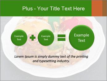 Christmas cake PowerPoint Template - Slide 75