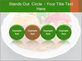 Christmas cake PowerPoint Template - Slide 76