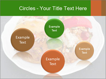Christmas cake PowerPoint Template - Slide 77