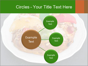 Christmas cake PowerPoint Template - Slide 79