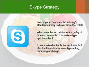 Christmas cake PowerPoint Template - Slide 8