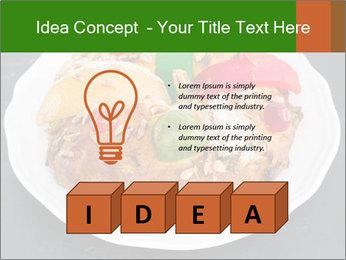 Christmas cake PowerPoint Template - Slide 80