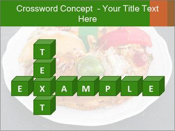 Christmas cake PowerPoint Template - Slide 82