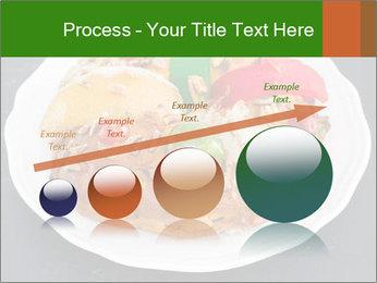 Christmas cake PowerPoint Template - Slide 87