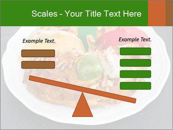 Christmas cake PowerPoint Template - Slide 89