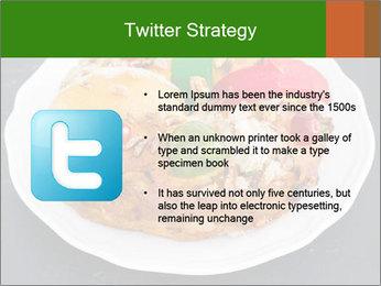 Christmas cake PowerPoint Template - Slide 9