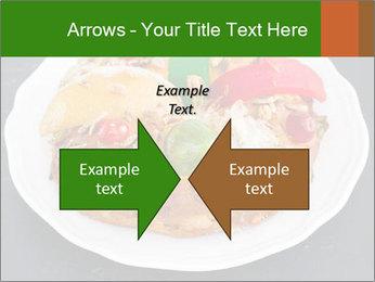 Christmas cake PowerPoint Template - Slide 90