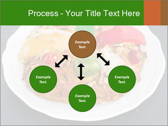 Christmas cake PowerPoint Template - Slide 91
