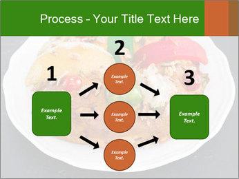 Christmas cake PowerPoint Template - Slide 92
