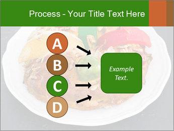 Christmas cake PowerPoint Template - Slide 94