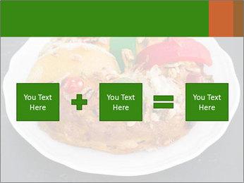 Christmas cake PowerPoint Template - Slide 95