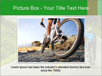 Cyclist riding a bike PowerPoint Templates - Slide 15