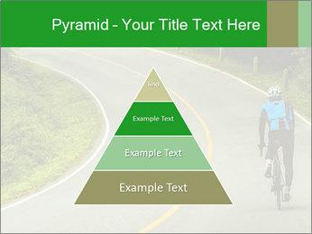 Cyclist riding a bike PowerPoint Templates - Slide 30