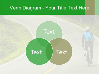 Cyclist riding a bike PowerPoint Templates - Slide 33