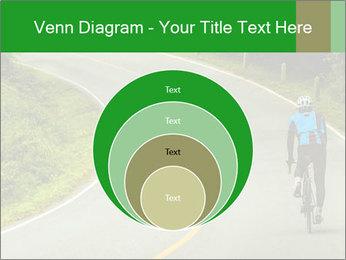 Cyclist riding a bike PowerPoint Templates - Slide 34
