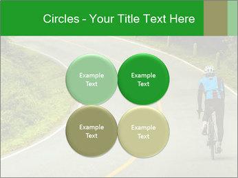 Cyclist riding a bike PowerPoint Templates - Slide 38