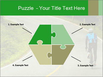 Cyclist riding a bike PowerPoint Templates - Slide 40