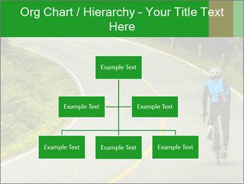Cyclist riding a bike PowerPoint Templates - Slide 66