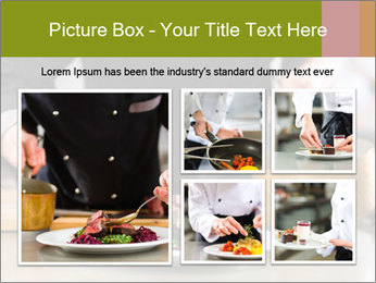 Chef in hotel PowerPoint Templates - Slide 19