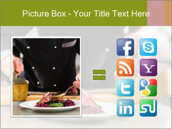 Chef in hotel PowerPoint Templates - Slide 21