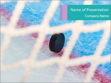 Hockey puck powerpoint template backgrounds id 0000094705 hockey puck powerpoint template toneelgroepblik Choice Image