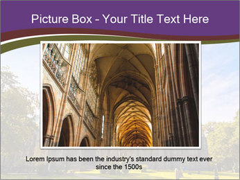 Cathedral in Trondheim Norway PowerPoint Template - Slide 16