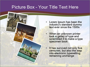 Cathedral in Trondheim Norway PowerPoint Template - Slide 17