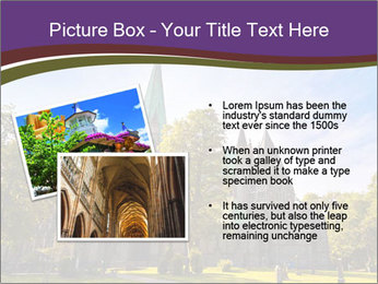 Cathedral in Trondheim Norway PowerPoint Template - Slide 20