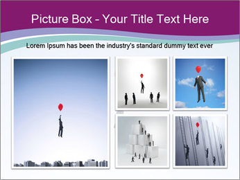 Man with a balloon PowerPoint Templates - Slide 19