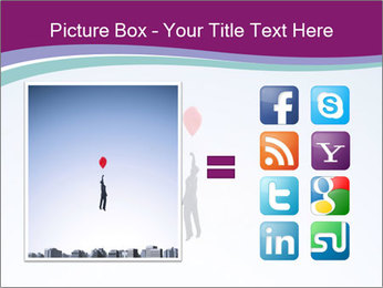 Man with a balloon PowerPoint Templates - Slide 21