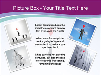 Man with a balloon PowerPoint Templates - Slide 24